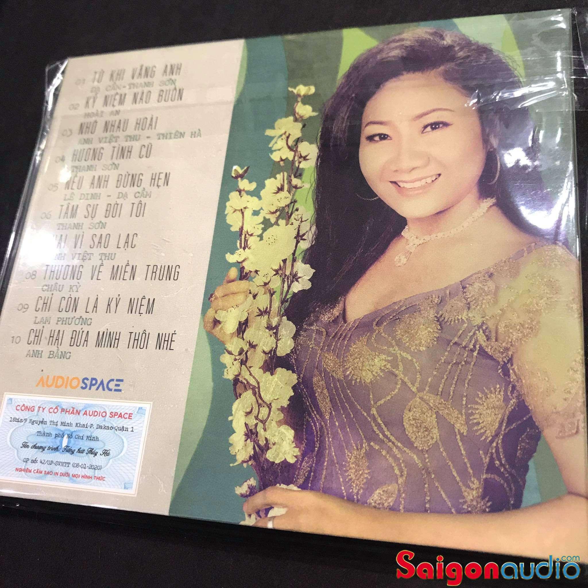 Đĩa CD gốc Tiếng Hát Thuý Hà (Free ship khi mua 2 đĩa CD cùng hoặc khác loại)