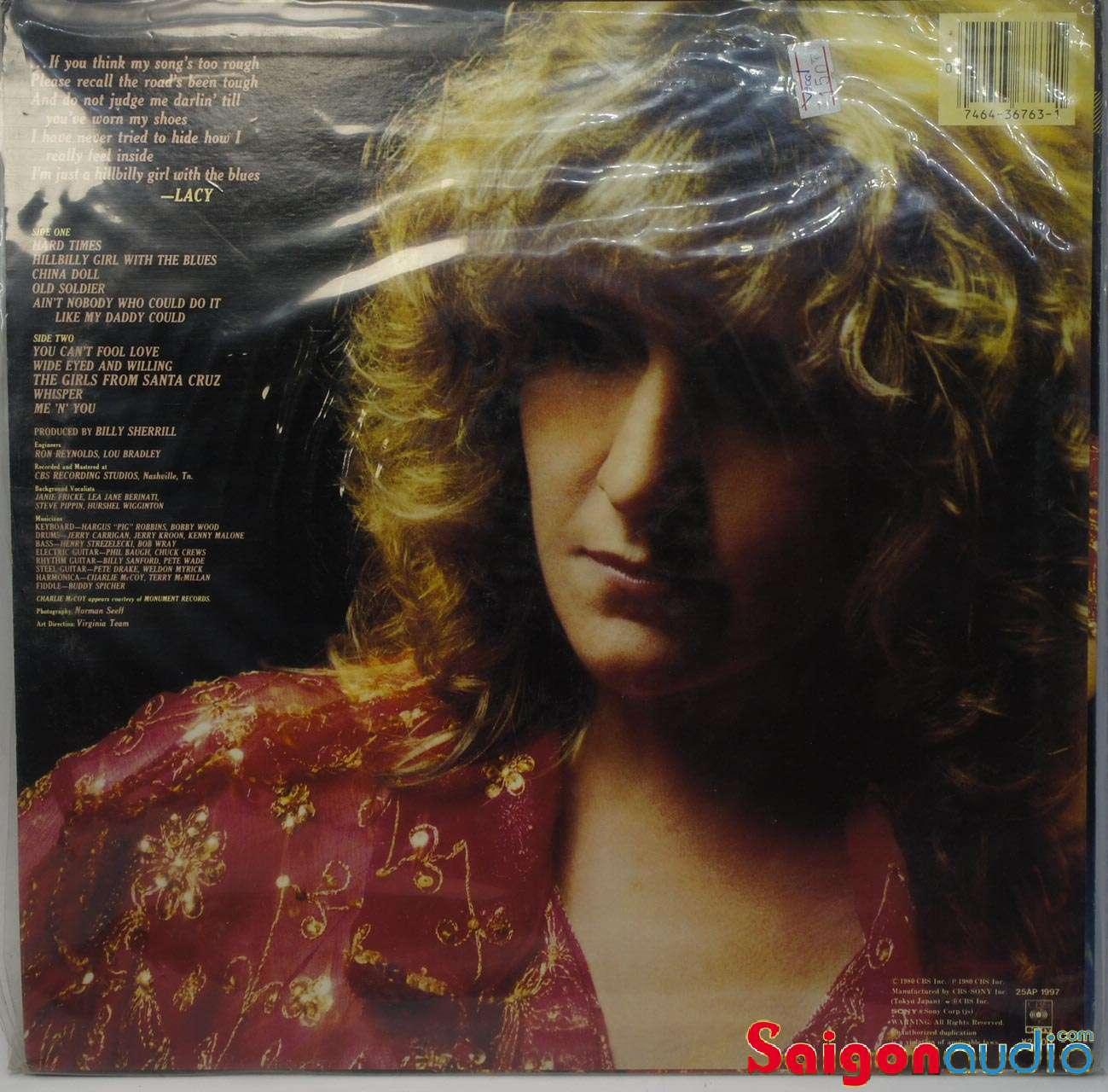 Đĩa than Lacy J. Dalton – Hard Times | LP Vinyl Records