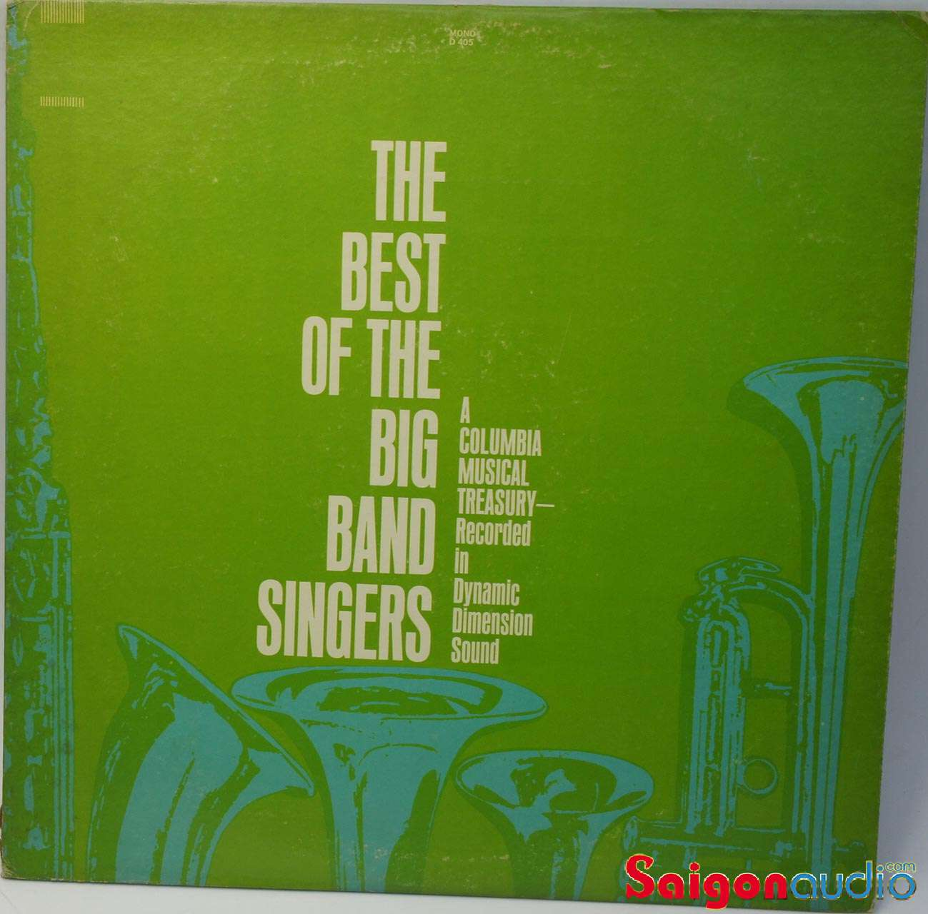Đĩa than The Best Of The Big Band Singers | LP Vinyl Records