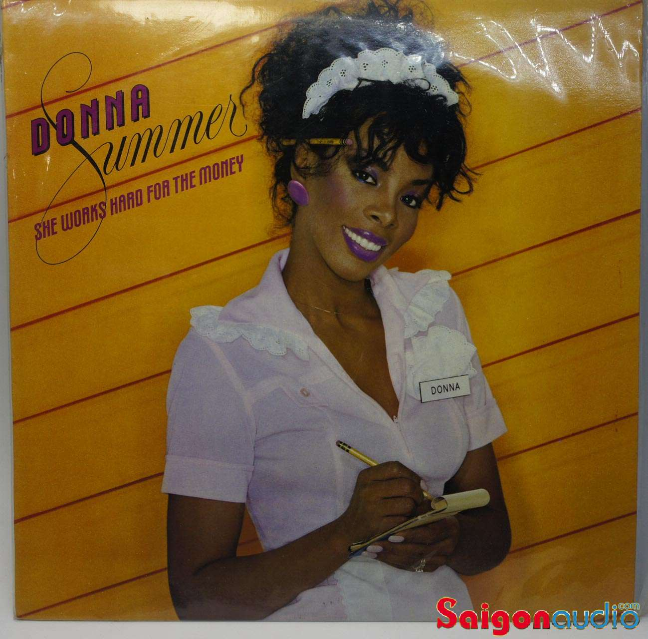 Đĩa than Donna Summer ‎– She Works Hard For The Money | LP Vinyl Records