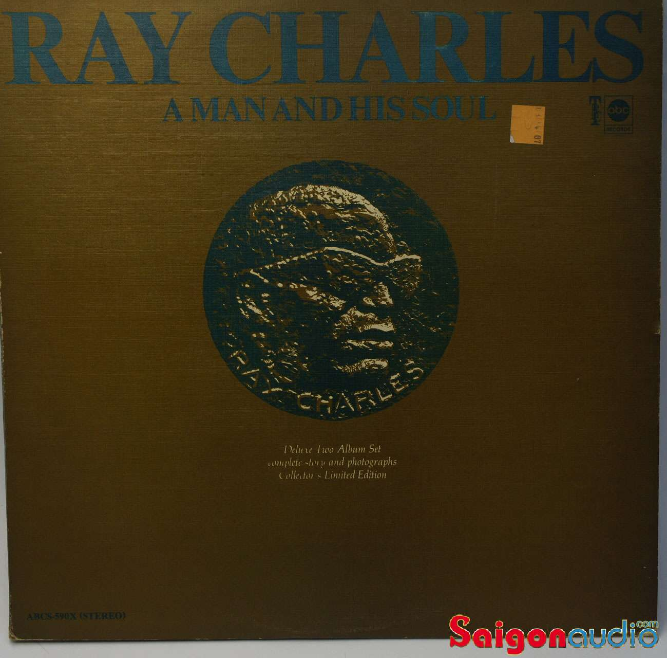 Đĩa than Ray Charles, A Man and His Soul - Vinyl LP Record (2 LP)