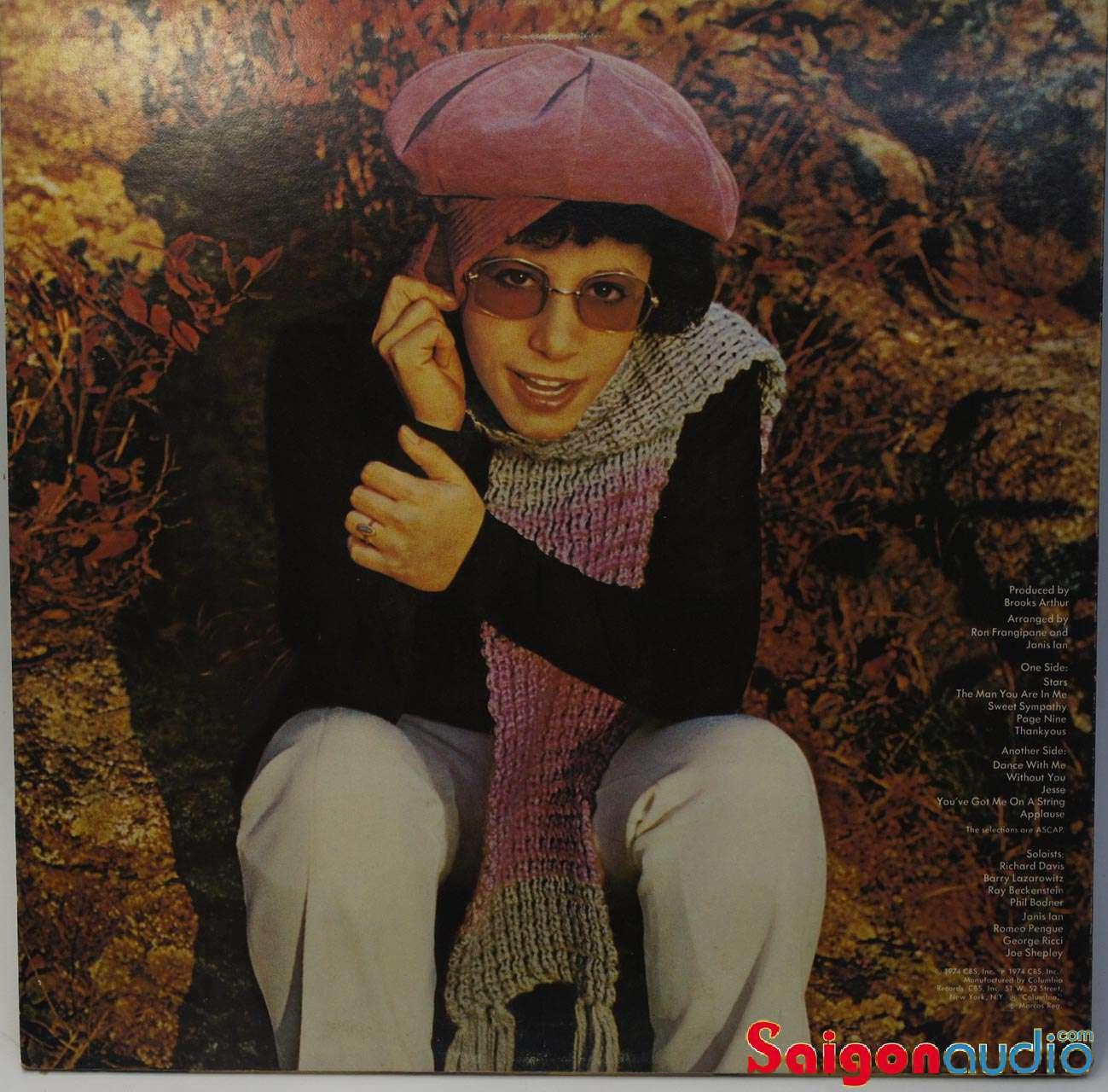 Đĩa than Janis Ian – Stars | LP Vinyl Records