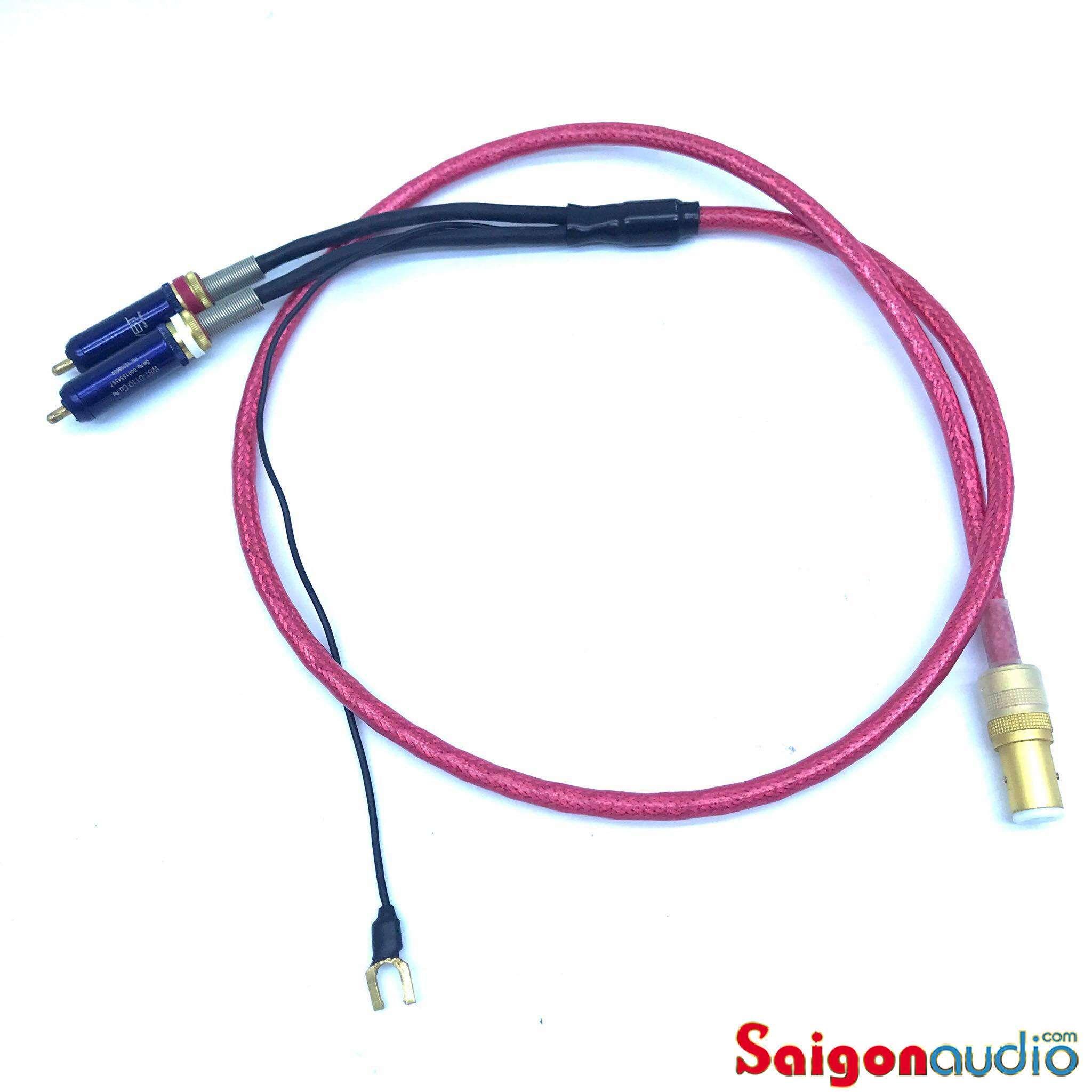 Dây phono Nordost HEIMDALL 2 (RCA > RCA, 5 PIN > RCA) | 1m