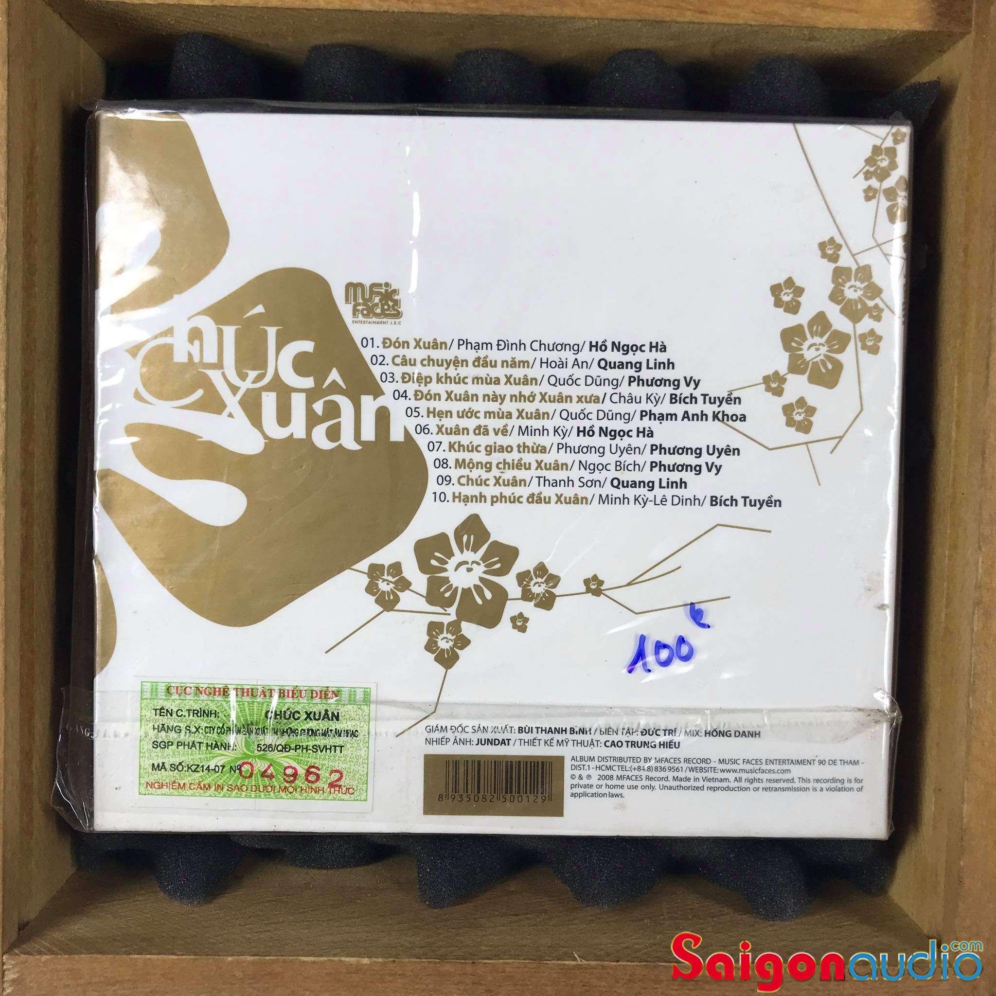 Đĩa CD nhạc gốc Chúc Xuân (Free ship khi mua 2 đĩa CD cùng hoặc khác loại)