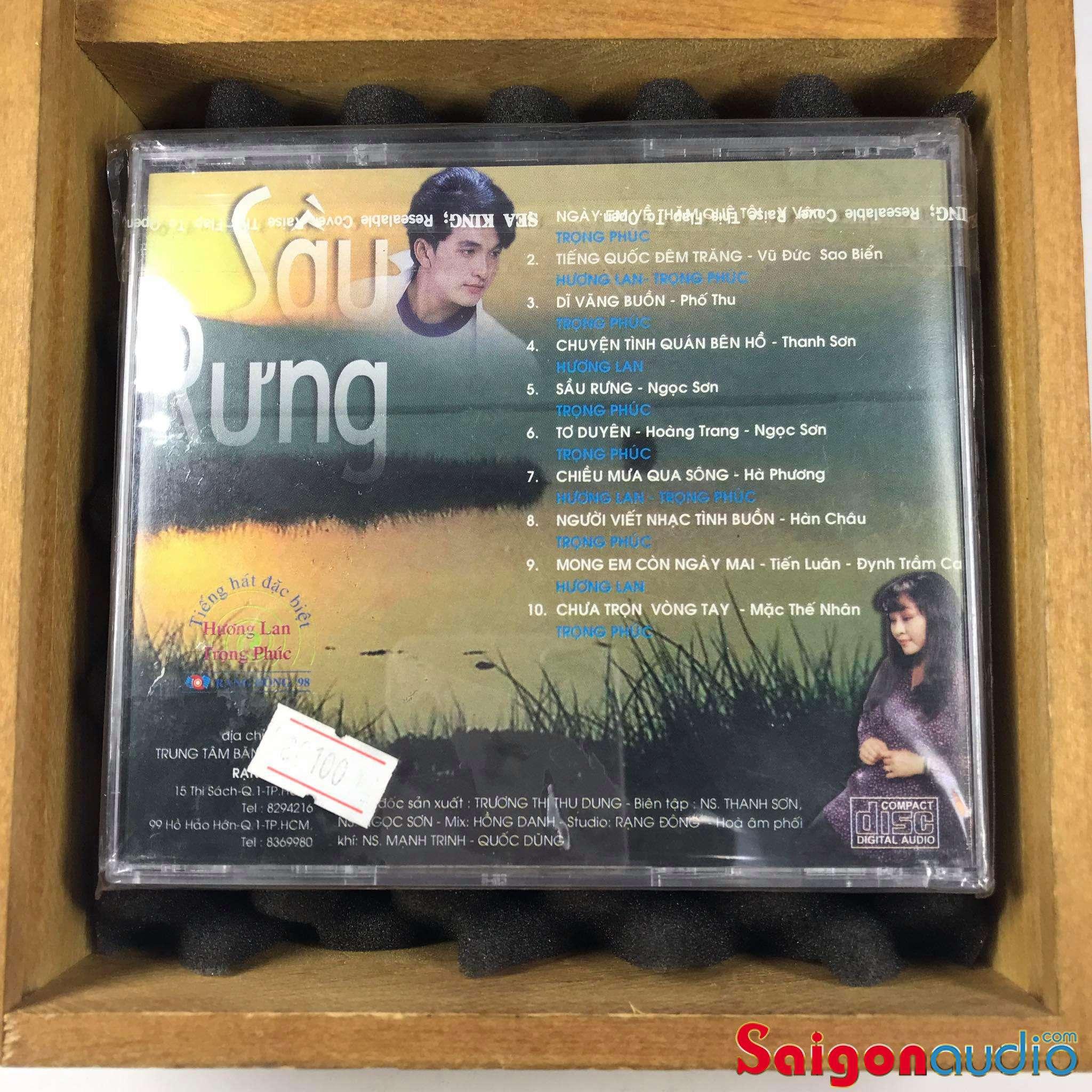Đĩa CD nhạc gốc Sầu Rưng (Free ship khi mua 2 đĩa CD cùng hoặc khác loại)