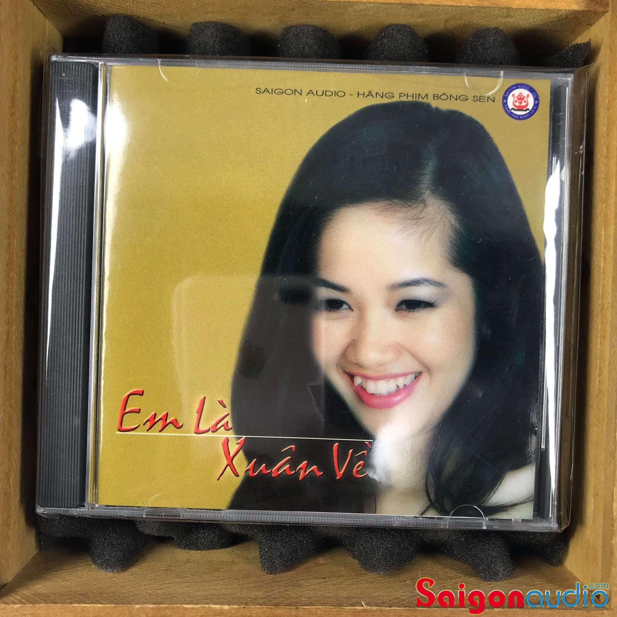 Đĩa CD nhạc gốc Em Là Xuân Về (Free ship khi mua 2 đĩa CD cùng hoặc khác loại)