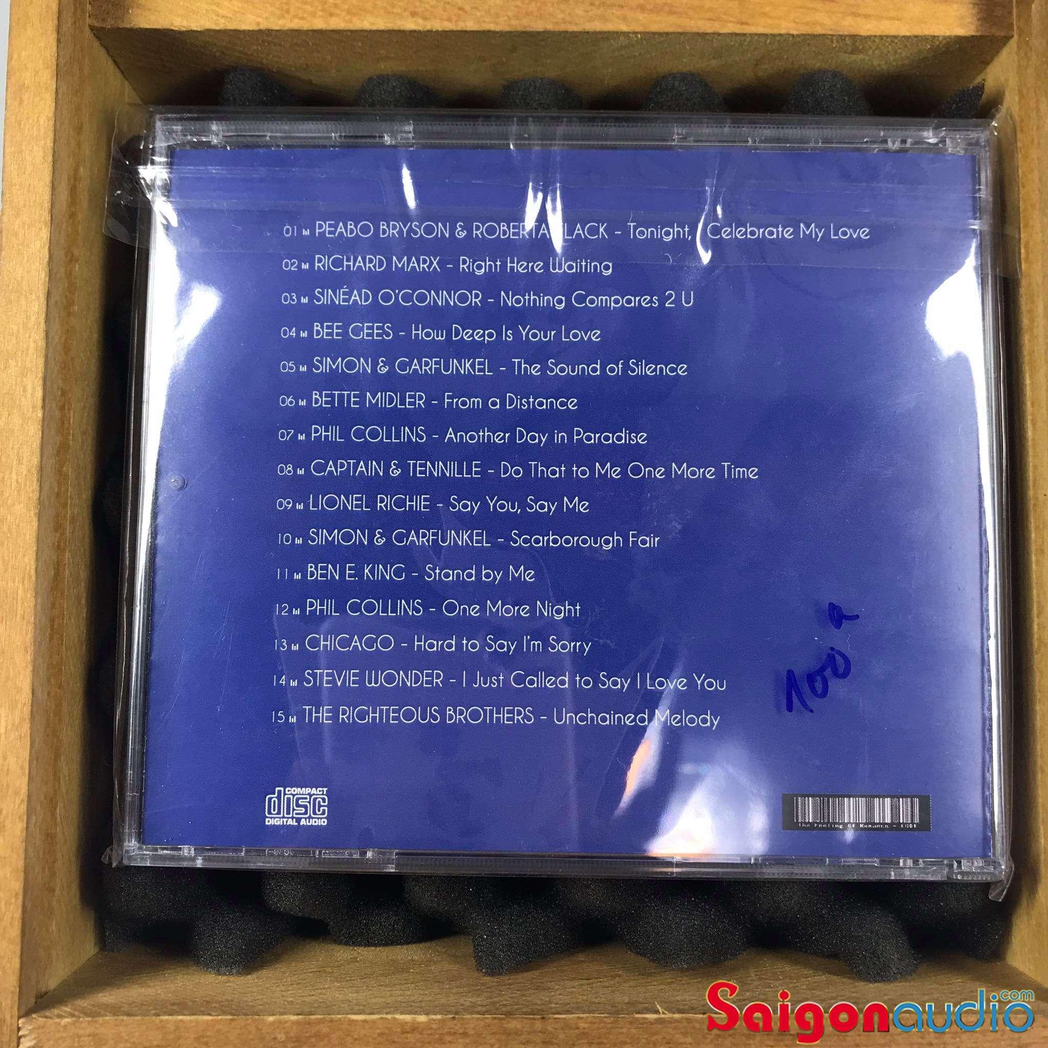 Đĩa CD nhạc The Feeling of Romance (Free ship khi mua 2 đĩa CD cùng hoặc khác loại)