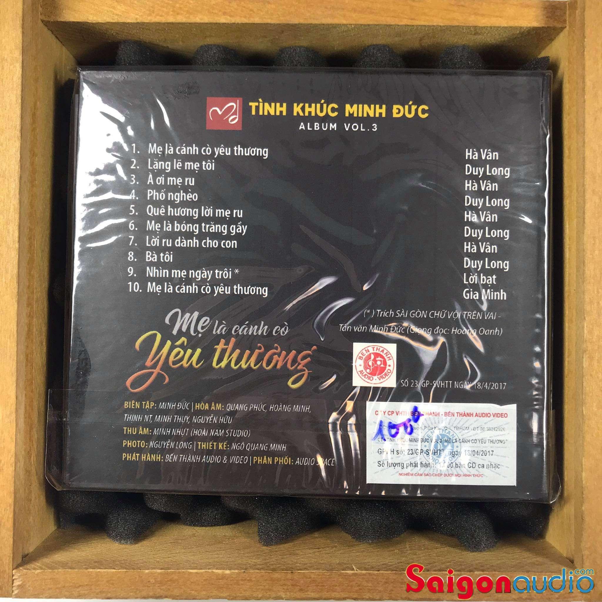 Đĩa CD nhạc gốc Mẹ Là Cánh Cò Yêu Thương (Free ship khi mua 2 đĩa CD cùng hoặc khác loại)