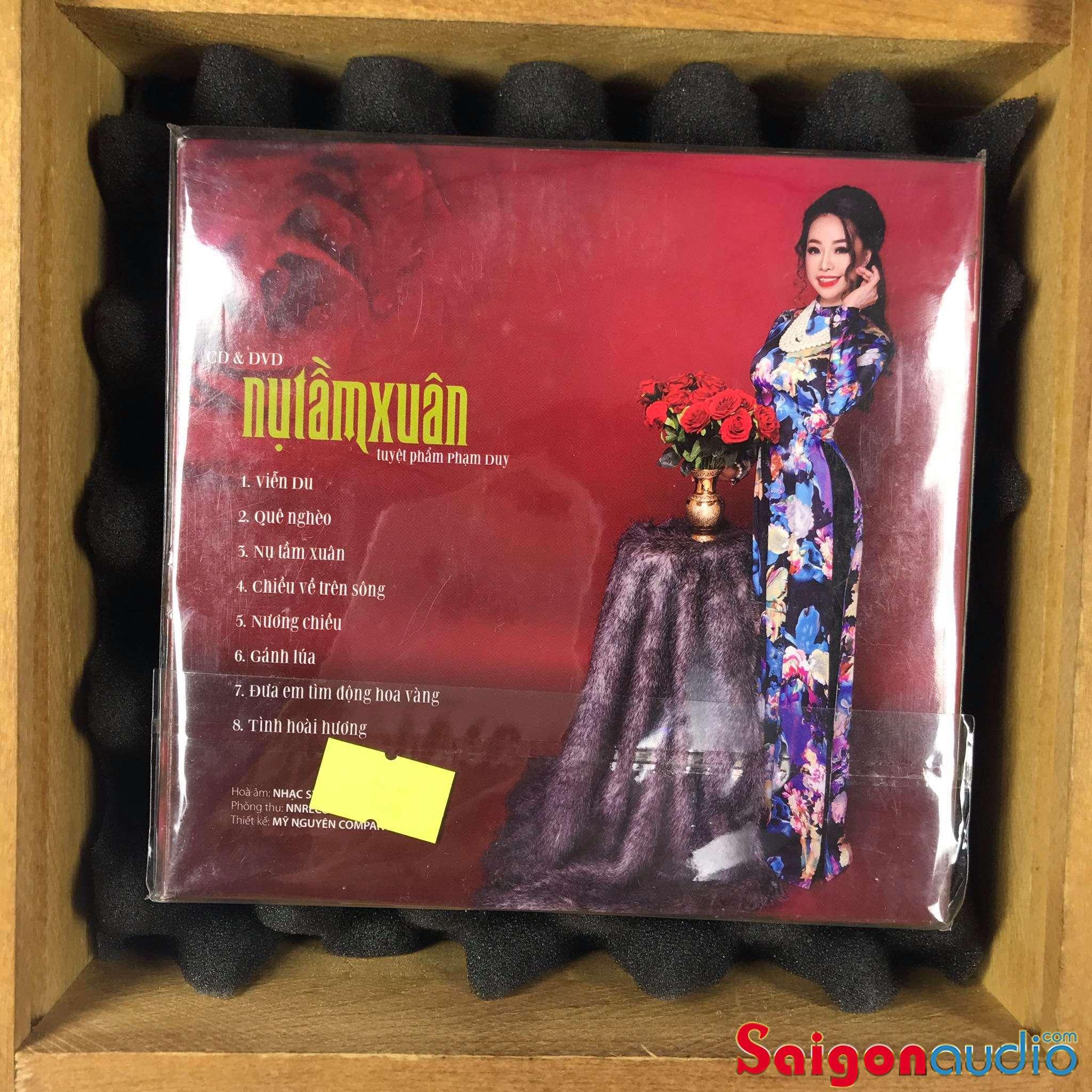 Đĩa CD gốc Thụy Vân - Nụ Tầm Xuân (Tuyệt Phẩm Phạm Duy) (Free ship khi mua 2 đĩa CD cùng hoặc khác loại)