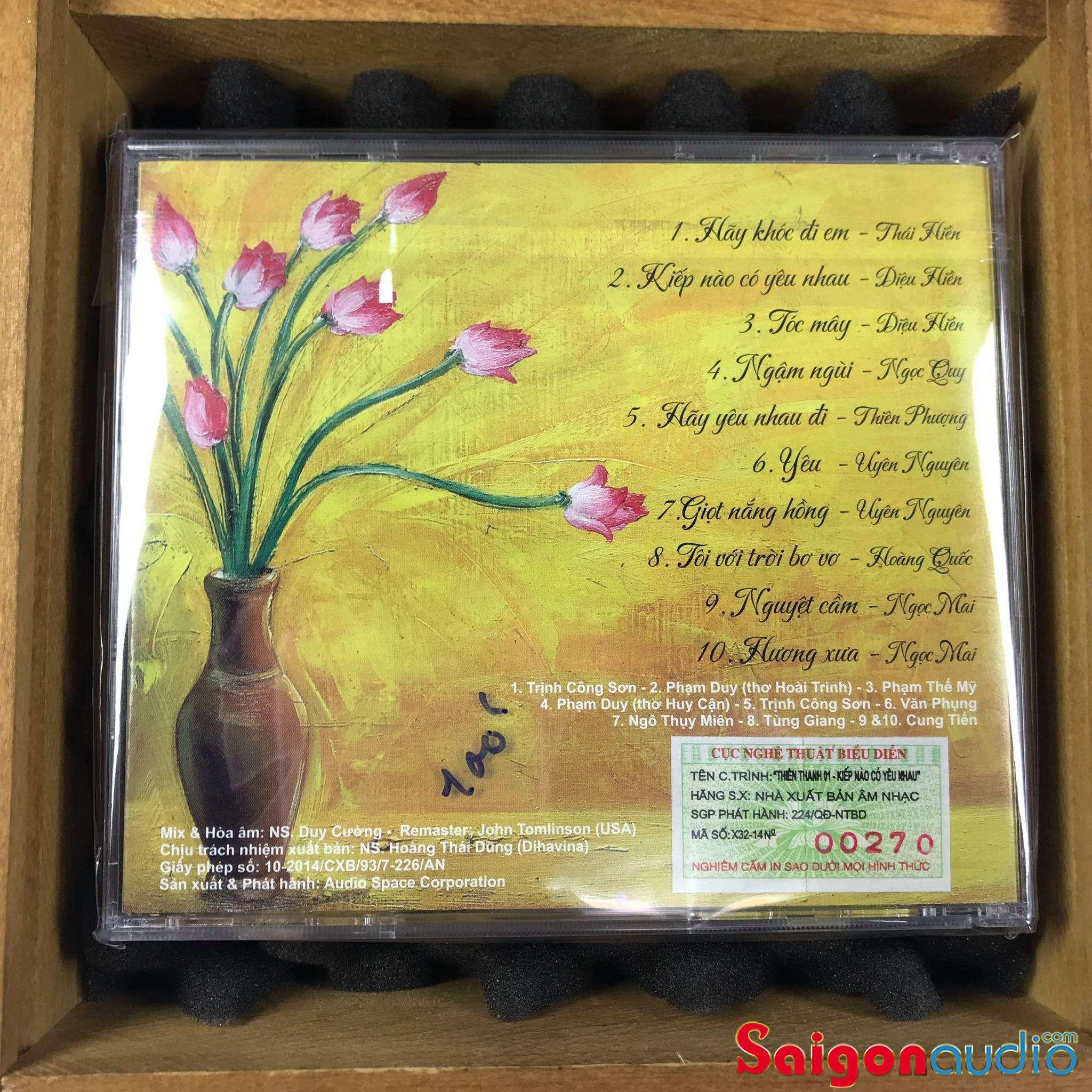 Đĩa CD nhạc gốc Hoà Âm Duy Cường - Kiếp Nào Có Yêu Nhau (Free ship khi mua 2 đĩa CD cùng hoặc khác loại)