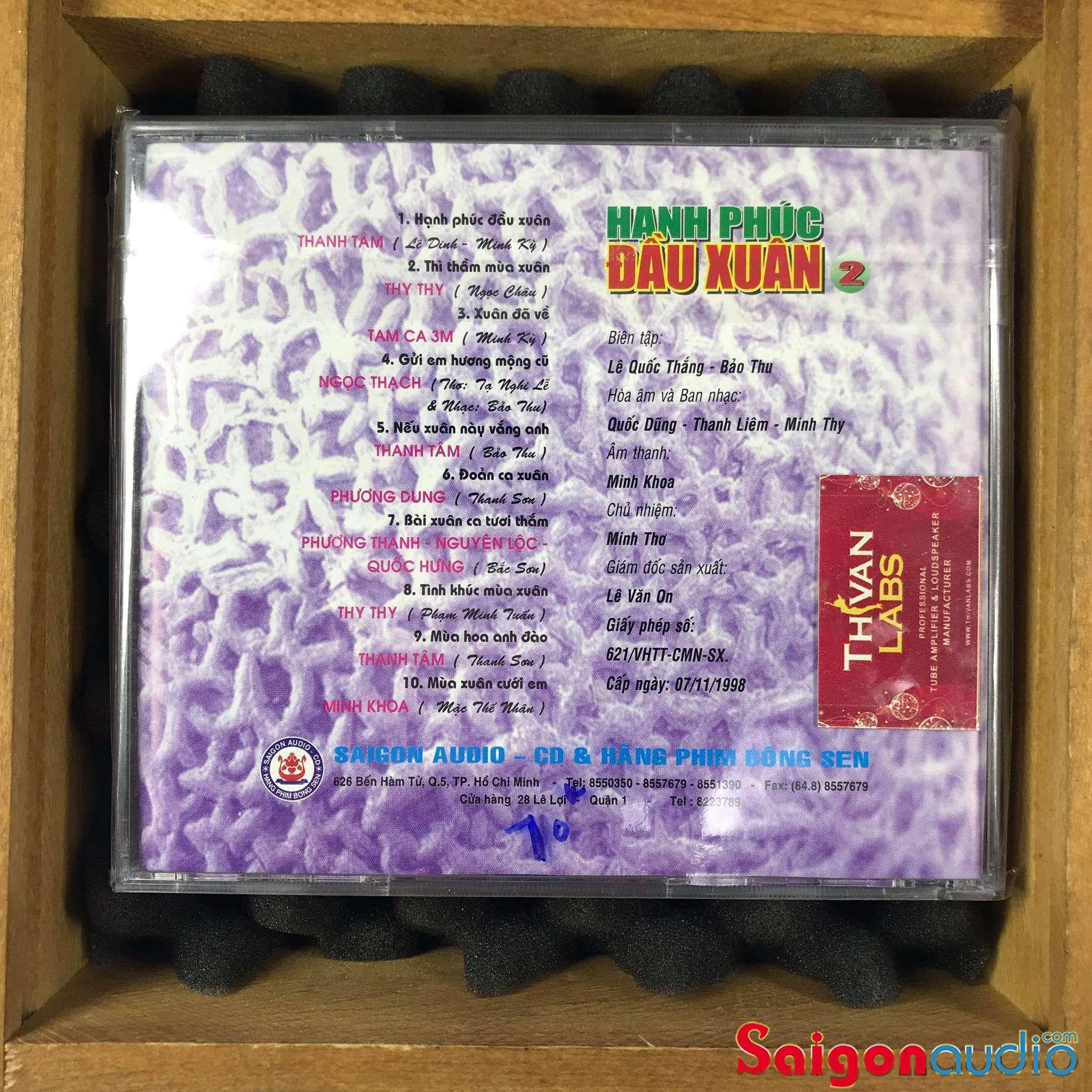 Đĩa CD gốc Hạnh Phúc Đầu Xuân 1