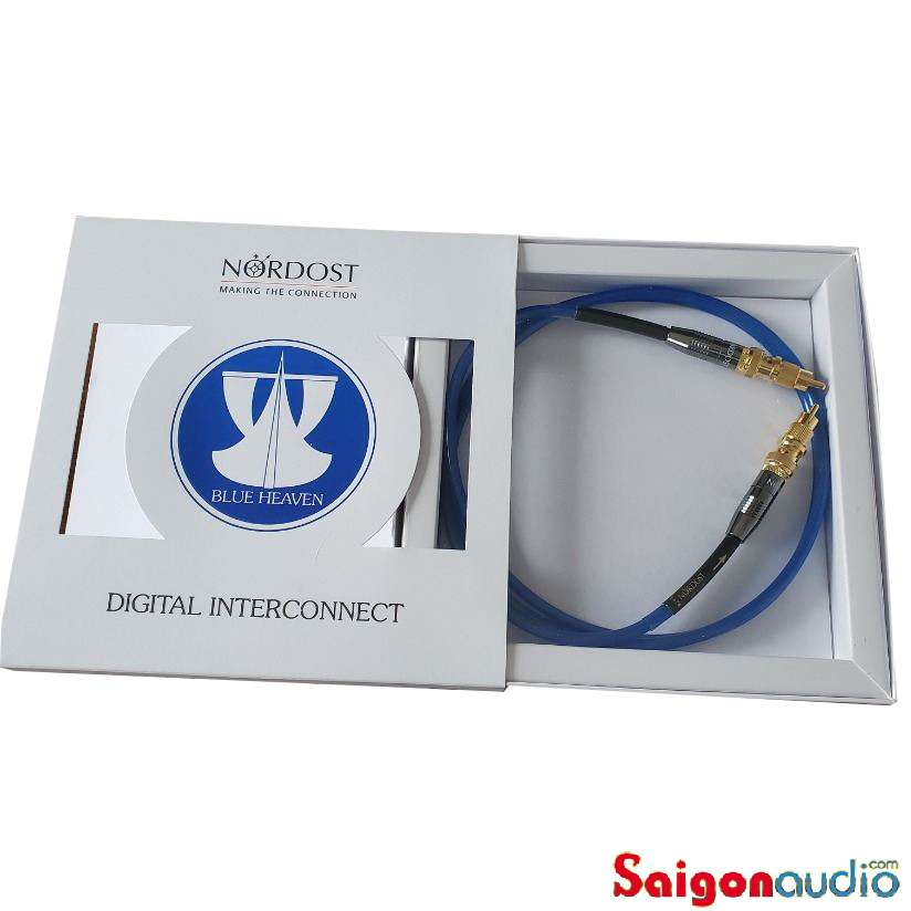 Dây coaxial digital Nordost Blue Heaven LS, box | 1m