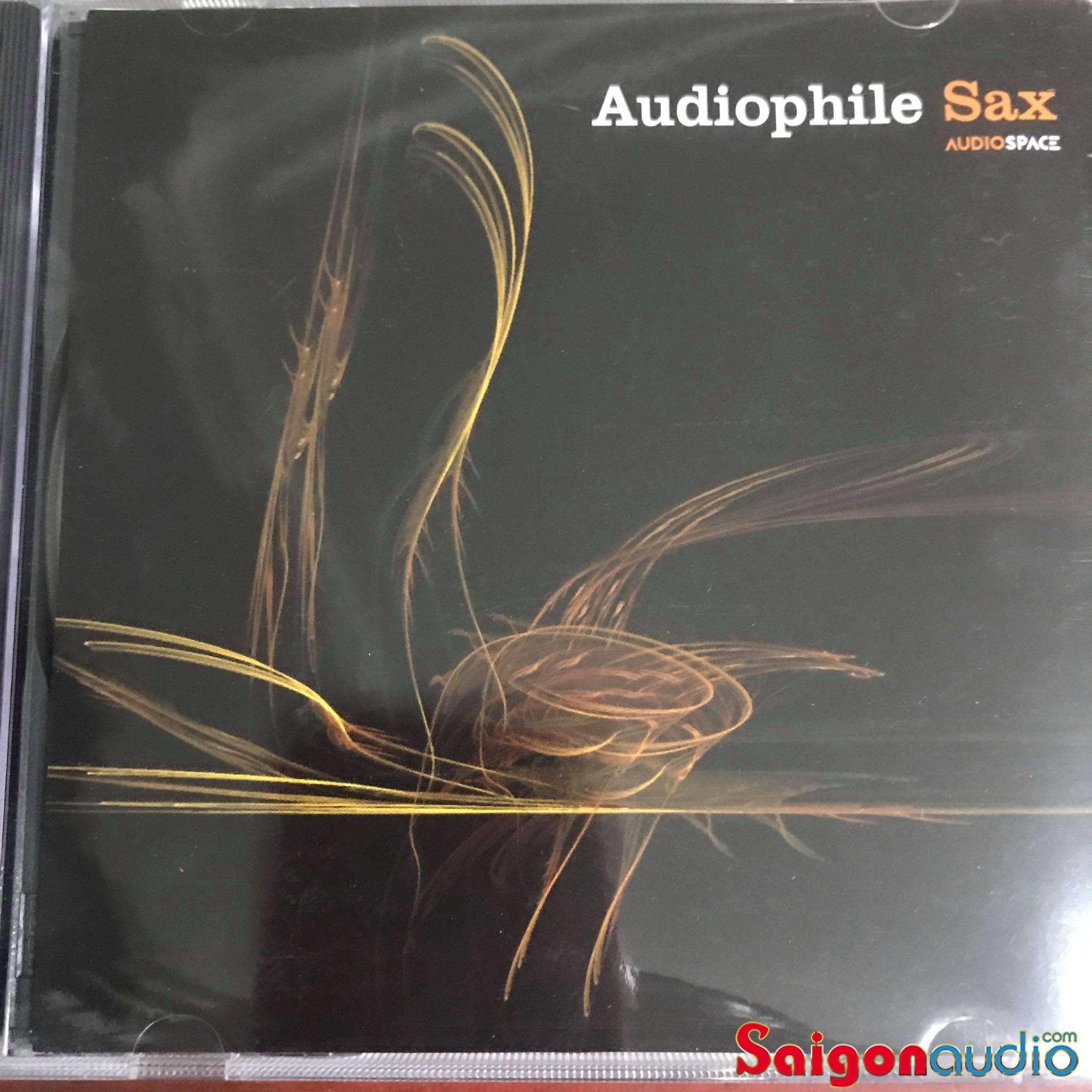 Đĩa CD nhạc Audiophile Sax - Audio Space (Free ship khi mua 2 đĩa CD cùng hoặc khác loại)