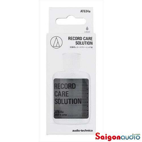 Nước rửa đĩa than Audio-Technica Audio-Technica AT634a 60ml Record Care Solution