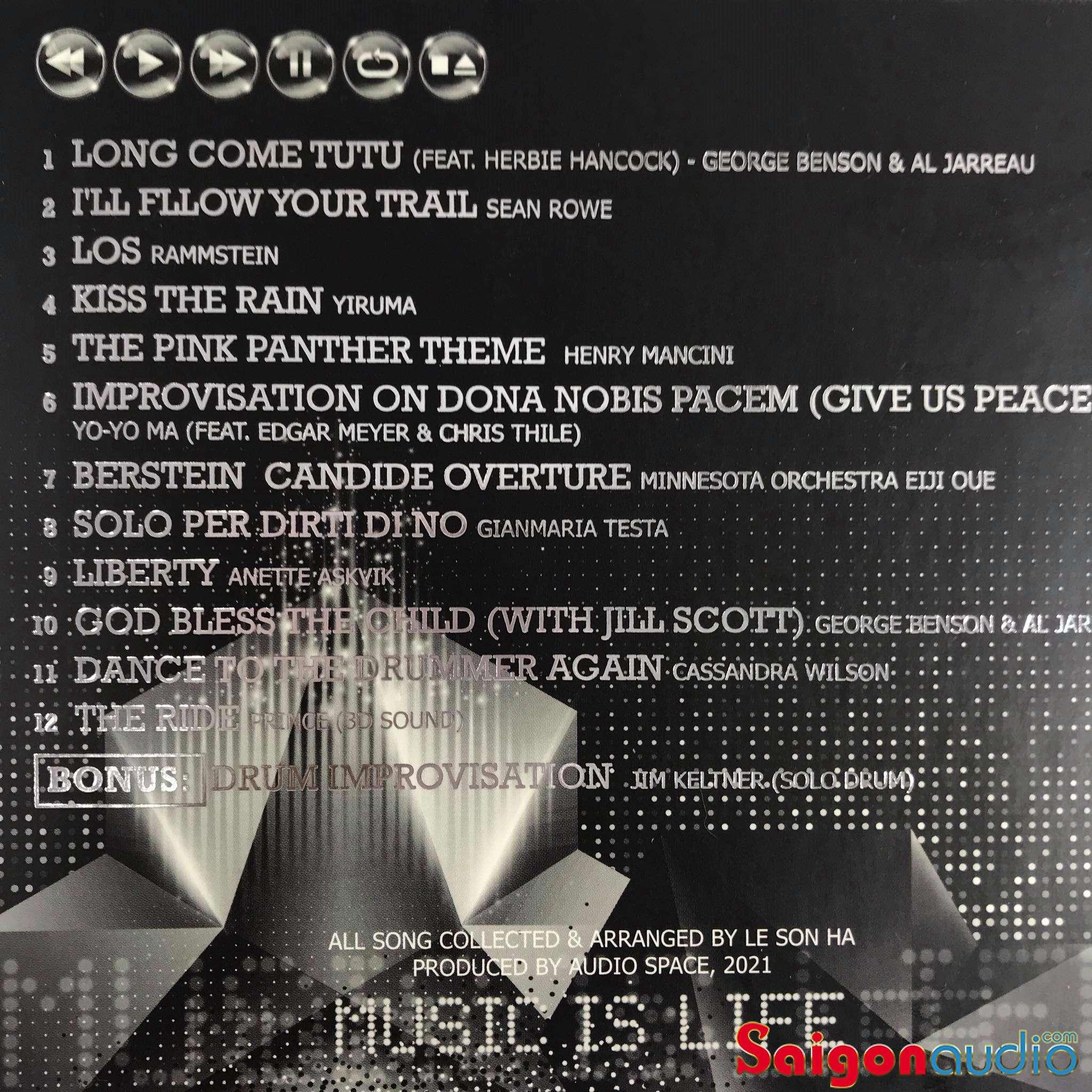 Đĩa CD nhạc Biên Hoà Đồng Nai Audiophile 7th 2021 (Free ship khi mua 2 đĩa CD cùng hoặc khác loại)