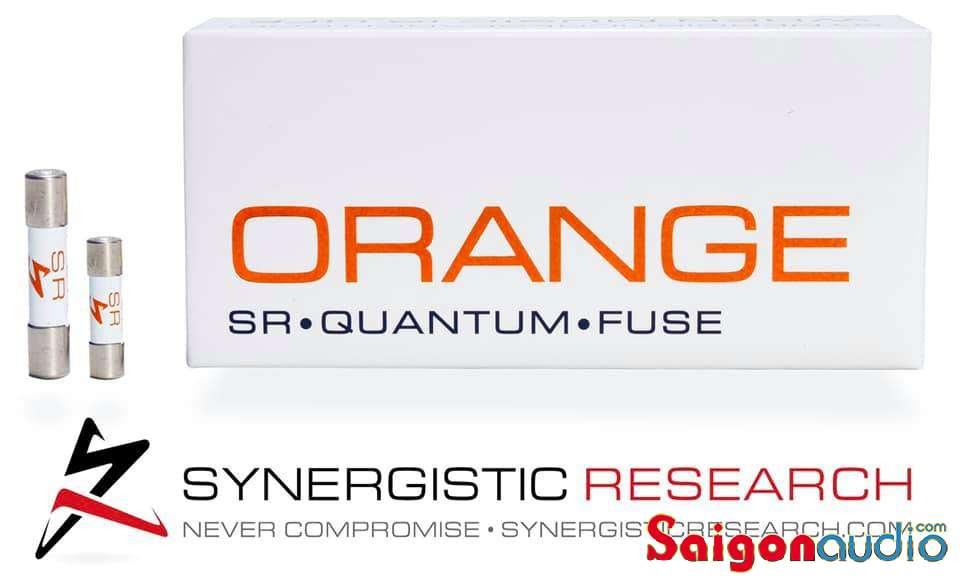 Cầu chì Synergistic Research Quantum ORANGE | 32mmx6.3mm (2.5A, 5A)
