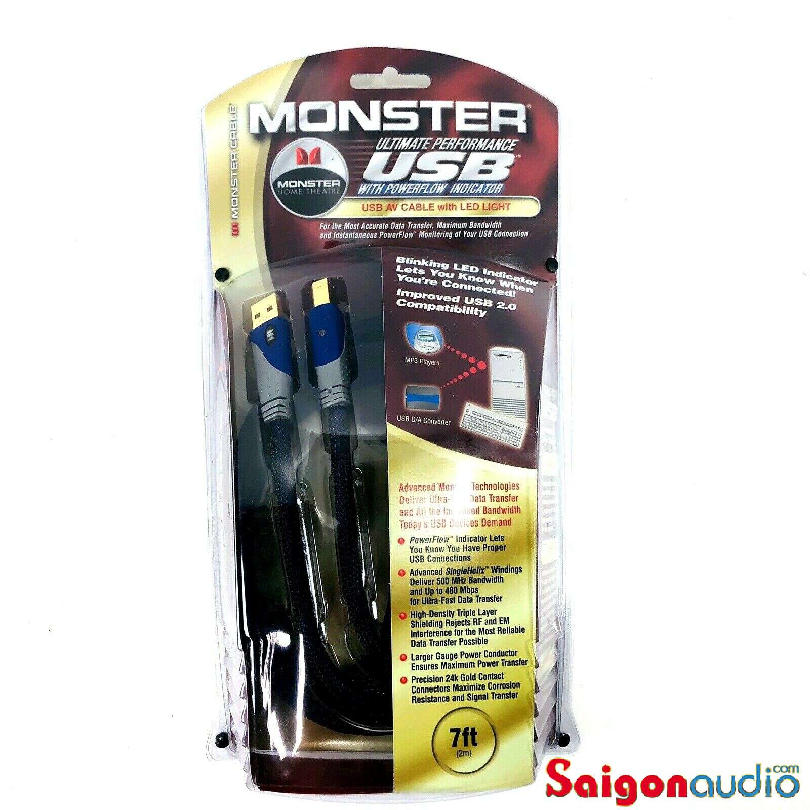 Dây USB Monster Ultimate Performance | 2m