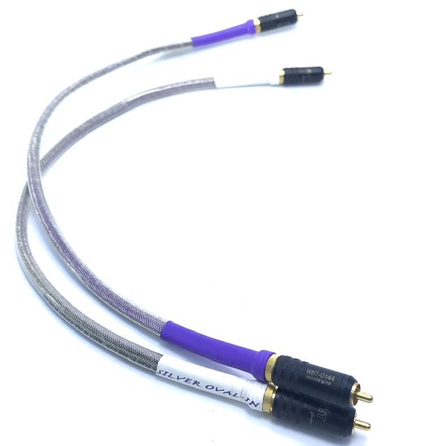 Dây tín hiệu Analysis Plus Silver Oval-In RCA, 0.5m, 1m